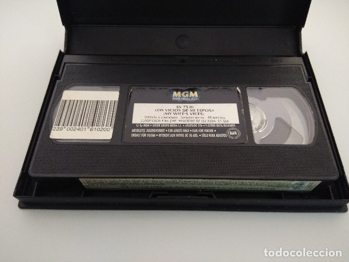 Peliculas: VHS EROTICO/MY WIFE VICES/LILLI CARATI/MANYA-ROCCO SIFFREDI. - Foto 4 - 179227952