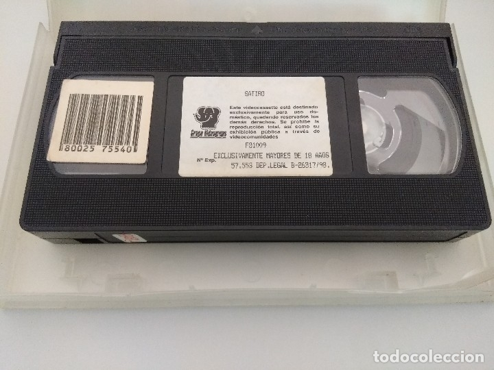 Peliculas: VHS EROTICO + POSTER PUBLICITARIO/SATIRO/JENNA JAMESON-ASIA CARRERA. - Foto 6 - 179230450