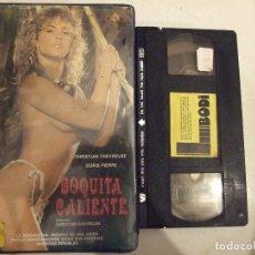Peliculas: VHS - BOQUITA CALIENTE BODI - CHRISTIAN CHEVREUSE , DORIS PIERRE - EBC. Lote 180486762