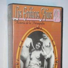 Peliculas: LOS ERÓTICOS AÑOS 40 (HISTORIA DE LA PORNOGRAFÍA) *** PELÍCULA VHS PARA ADULTOS (ERÓTICO) ***. Lote 186239163