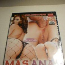 Filmes: DVD X ADULTOS. MÁS ANAL MUERTE AL VAGINAL 179 MIN (PRECINTADO). Lote 186434523