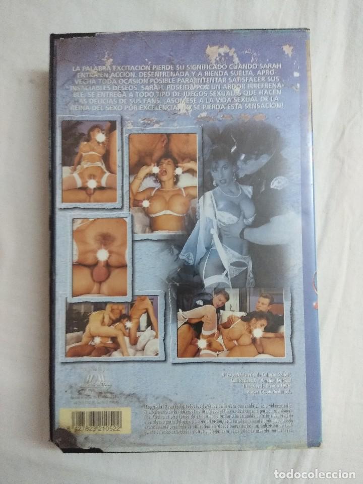 Peliculas: VHS EROTICO/QUEEN OF LOVE 2/SARAH YOUNG. - Foto 2 - 189079030