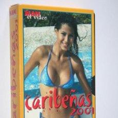 Peliculas: CARIBEÑAS 2001 (REVISTA MAN) *** VHS EROTICO. Lote 189443315
