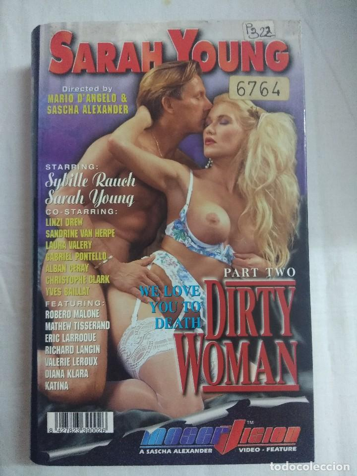 VHS EROTICO/DYRTY WOMAN PART TWO/SARAH YOUNG. (Coleccionismo para Adultos - Películas)