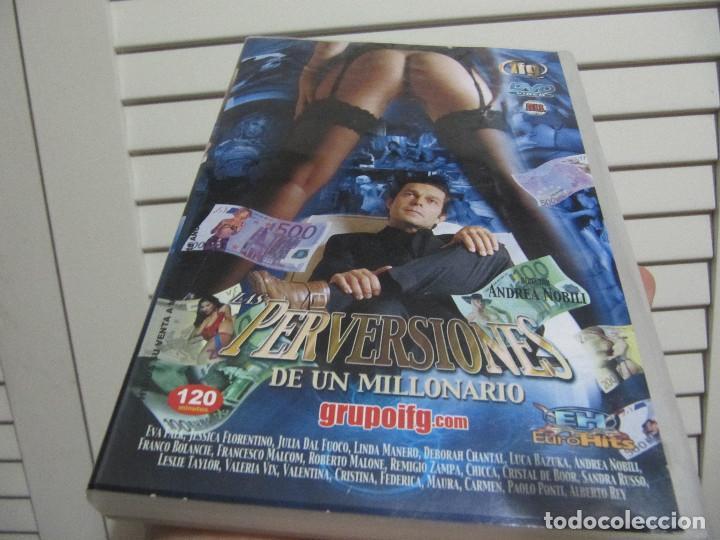 PERVERSIONES DE UN MILLONARIO DVD 120 MINUTOS (Coleccionismo para Adultos - Películas)
