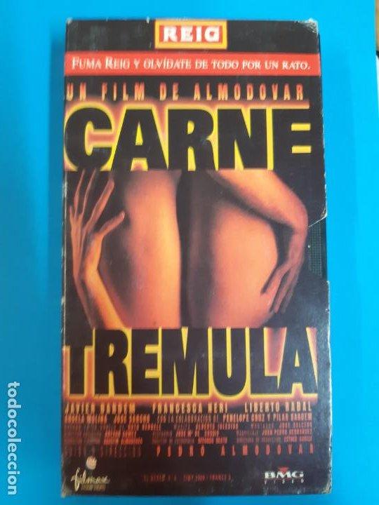 CINE PORNO. CINE ADLTOS. CINE X .CARNE TREMULA. VIDEO VHS (Coleccionismo para Adultos - Películas)