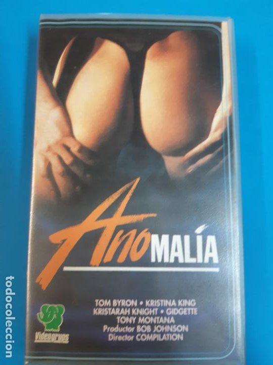 CINE PORNO. CINE ADLTOS. CINE X .ANOMALIA. VIDEO VHS (Coleccionismo para Adultos - Películas)