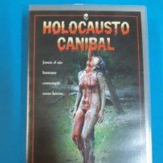 Peliculas: CINE PORNO. CINE ADLTOS. CINE X .HOLOCAUSTO CANIBAL. VIDEO VHS. DESCATALOGADO. MITICA. Lote 190838086