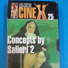 Peliculas: CINE PORNO. CINE ADLTOS. CINE X .CONCEPTS BY SALIERI 2. VIDEO VHS. DESCATALOGADO. . Lote 190838263