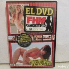 Peliculas: FHM - VECINITAS 2006 - DVD - XXX - 10 PIBONES, 53 MINUTOS DE TIABUENISMO - COMO NUEVO. Lote 192985593