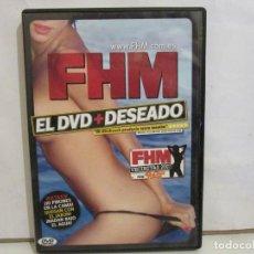 Peliculas: FHM - VECINITAS 2007 - EL DVD + DESEADO - XXX - EXTRAS, 10 PIBONES EN LA CAMA - EX+/EX+. Lote 192985858