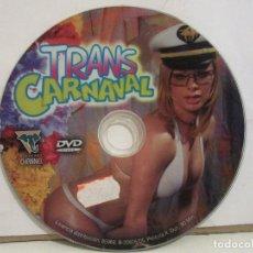 Peliculas: TRANS CARNAVAL BRASIL - DVD - GRABADO EN BELO HORIZONTE - XXX - RARO - 2005 - SIN PORTADA. Lote 192986698