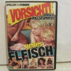 Peliculas: MADURAS - GEILES FLEISCH VORSICHT - DVD - IMPORTACIÓN ALEMANIA - XXX - DBM - GERMANY - G/EX+. Lote 192987220