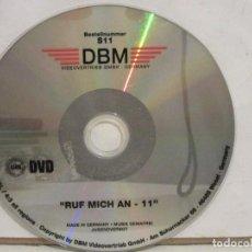 Peliculas: RUF MICH AN 11 - DVD - IMPORTACIÓN ALEMANIA - XXX - DBM - GERMANY - G. Lote 193051987