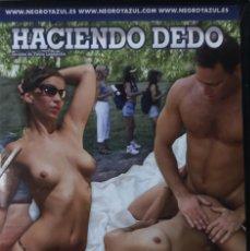 Films: PELICULA ADULTOS EN DVD PRECINTADA - NEGRO Y AZUL - HACIENDO DEDO. Lote 194080632