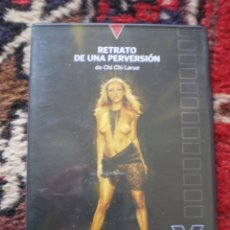 Peliculas: DVD PORNO. RETRATO DE UNA PERVERSION. ORIGINAL. PERFECTO VISIONADO. Lote 194265646