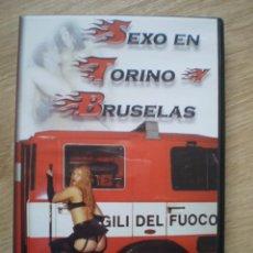 Peliculas: DVD PORNO. SEXO EN TORINO Y BRUSELAS. ORIGINAL. PERFECTO VISIONADO. Lote 194266043