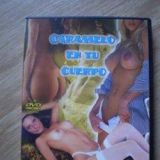 Peliculas: DVD PORNO. CARAMELO EN TU CUERPO. ORIGINAL. PERFECTO VISIONADO. Lote 194267511
