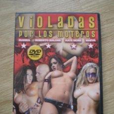 Peliculas: DVD PORNO. VIOLADAS POR LOS MOTEROS. ORIGINAL. PERFECTO VISIONADO. Lote 194267631