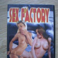 Peliculas: DVD PORNO. SEX FACTORY. ORIGINAL. PERFECTO VISIONADO. Lote 194279565