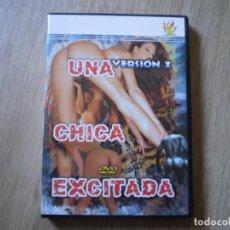 Peliculas: DVD PORNO. UNA CHICA EXCITADA. ORIGINAL. PERFECTO VISIONADO. Lote 194590548
