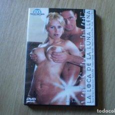 Peliculas: DVD PORNO. LA LOCA DE LA LUNA LLENA. ORIGINAL. PERFECTO VISIONADO. Lote 194591088