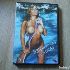 Peliculas: DVD PORNO. SUGERENCIAS EROTICAS. ORIGINAL. PERFECTO VISIONADO. Lote 194591702