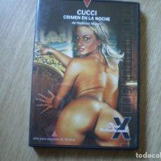 Peliculas: DVD PORNO. CUCCI CRIMEN EN LA NOCHE. ORIGINAL. PERFECTO VISIONADO. Lote 194593405
