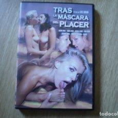 Peliculas: DVD PORNO. TRAS LA MASCARA DEL PLACER. ORIGINAL. PERFECTO VISIONADO. Lote 194597918