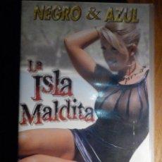 Peliculas: PELICULA ADULTOS VHS - LA ISLA MALDITA - NEGRO & AZUL - SALIERI. Lote 194906556