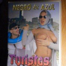 Peliculas: PELICULA ADULTOS VHS - TURISTAS VICIOSAS - NEGRO & AZUL - SALIERI. Lote 194906626
