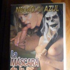Peliculas: PELICULA ADULTOS VHS - LA MÁSCARA DE LA VIOLENCIA - NEGRO & AZUL - SALIERI. Lote 194906733