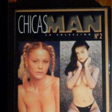 Peliculas: PELICULA ADULTOS DVD - CHICAS MAN Nº2 - MAKING OF - ESPECIAL MUJERES SUECAS Y TAILANDESAS. Lote 195343125