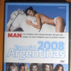 Peliculas: PELICULA ADULTOS DVD - CHICAS MAN - MAKING OF - ESPECIAL MUJERES ARGENTINAS 2008. Lote 195343260