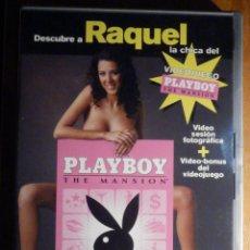 Peliculas: PELICULA ADULTOS DVD - MODELOS PLAYBOY - RAQUEL LA CHICA DEL JUEGO THE MANSION. Lote 195343661