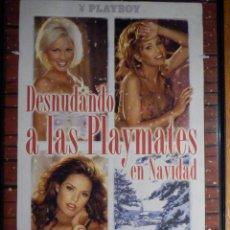 Peliculas: PELICULA ADULTOS DVD - MODELOS PLAYBOY - DESNUDANDO A LAS PLAYMATES EN NAVIDAD. Lote 195343737