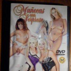 Peliculas: PELÍCULA ADULTOS DVD - MUÑECAS C/ SORPRESA - TRANSEXXUALES, HOMBRES TRANSFORMADOS CON TETAS,PAPILLON. Lote 195442253