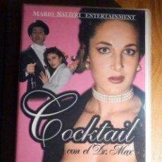 Peliculas: PELÍCULA ADULTOS VHS - COCKTAIL CON EL DR.MAX - MARIO SALIERI - NEGRO & AZUL. Lote 195442297