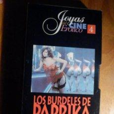 Peliculas: PELICULA ADULTOS VHS - LOS BURDELES DE PAPRIKA Nº 4 - JOYAS DEL CINE ERÓTICO. Lote 195589208