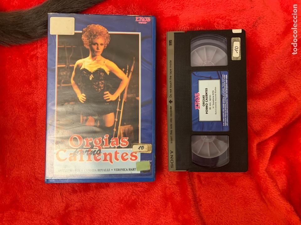 ORGÍAS PORNO CALIENTES PELÍCULAS VHS X (Coleccionismo para Adultos - Películas)
