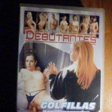 Peliculas: PELICULA ADULTOS VHS - JOVENES DEBUTANTES - GOLFILLAS DESVERGONZADAS - PAPILLON FILMS. Lote 196568807