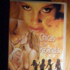 Peliculas: PELICULA ADULTOS VHS - CHICAS DE PASARELA - SILVIA SUN - PAPILLON FILMS. Lote 196573291
