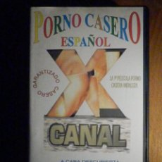Peliculas: PELICULA ADULTOS VHS - PORNO CASERO ESPAÑOL - POLVOS ANDALUCES. Lote 197233357