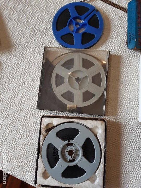 Peliculas: LOTE 3 ANTIGUAS PELICULAS PORNOGRAFICAS SUPER 8. - Foto 2 - 224028791