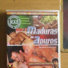 Peliculas: DVD PORNO MADURAS EN APUROS. Lote 201240701