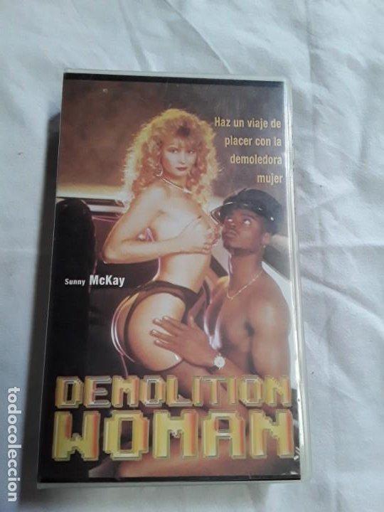 CINTA VHS PORNOGRÁFICA PLACER CON LA DEMOLEDORA MUJER DEMOLITION WOMAN (Coleccionismo para Adultos - Películas)