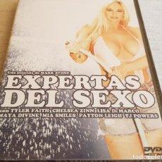 Peliculas: EXPERTAS DEL SEXO / TYLER FAITH-CHELSEA ZINN / DVD-PRECINTADO. Lote 202423298