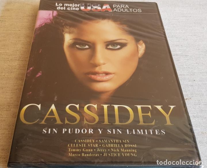 CASSIDEY / SIN PUDOR Y SIN LÍMITES / CINE USA PARA ADULTOS / DVD - PRECINTADO. (Coleccionismo para Adultos - Películas)