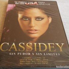 Peliculas: CASSIDEY / SIN PUDOR Y SIN LÍMITES / CINE USA PARA ADULTOS / DVD - PRECINTADO.. Lote 202423463