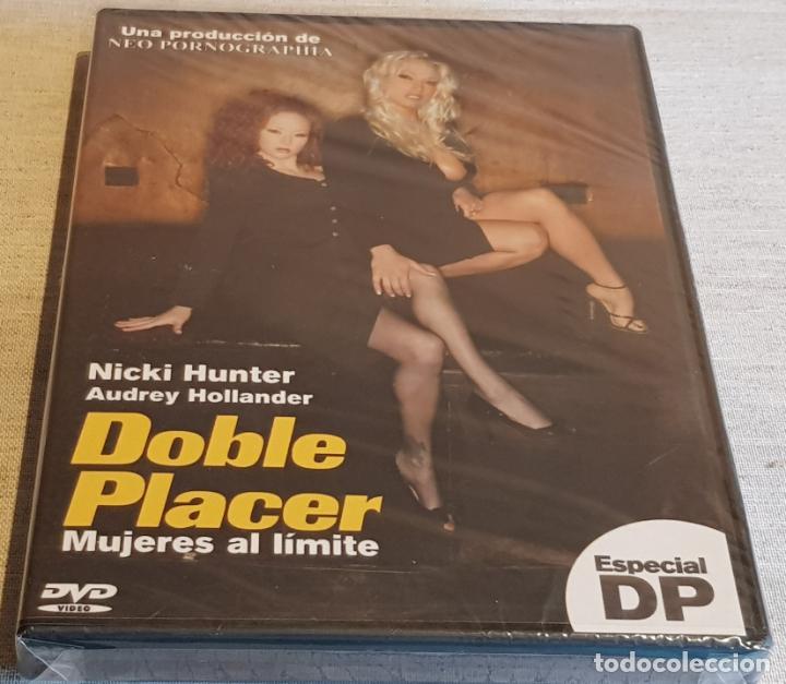 DOBLE PLACER / MUJERES AL LÍMITE / NICKI HUNTER-AUDREY HOLLANDER / DVD-PRECINTADO. (Coleccionismo para Adultos - Películas)